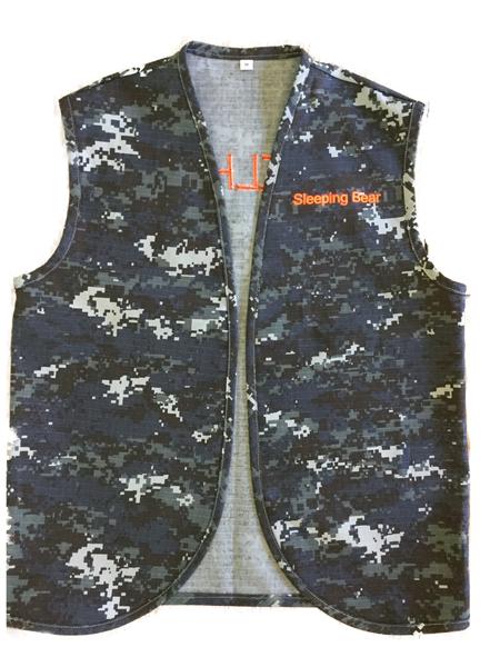 Embroidered Youth Cotton Clerk Style Patch Vest