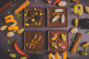 Artisan Raw Chocolate Gift Box ~ Zest Range