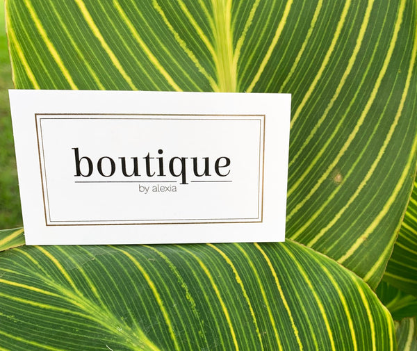 Boutique by Alexia Gift Card