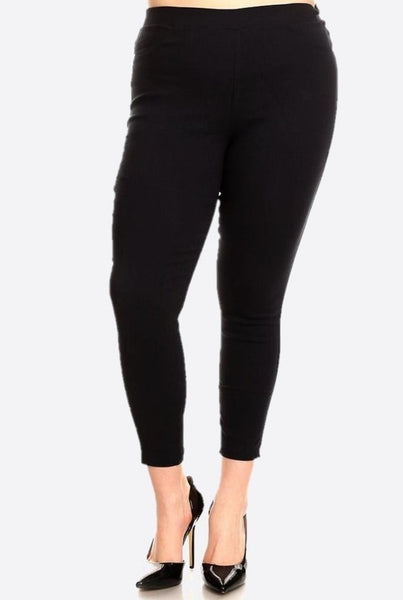 PLUS BLACK JEGGING
