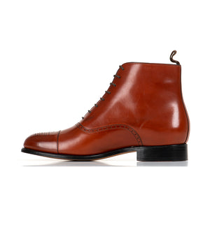 Arcade Straight Boot - Cognac