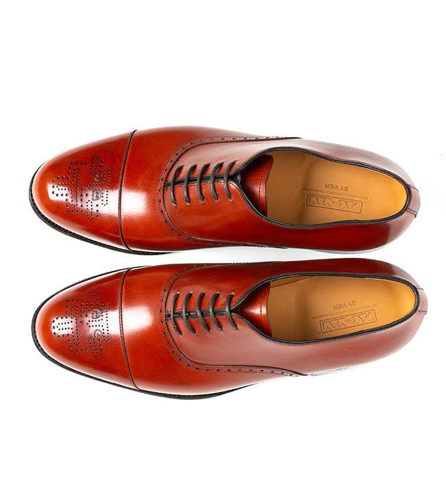 Arcade Straight Shoe - Cognac