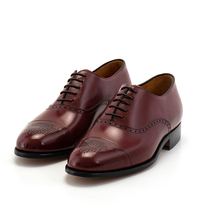Arcade Straight Shoe - Maroon