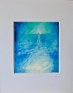"""Emerging Clarity"" Oil Pastel Original"