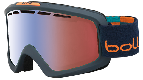 Antiparras Bollé Nova II (MATTE BLUE & ORANGE / PC MODULATOR VERMILLON BLUE)