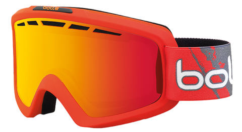Antiparras Bollé Nova II (Matte Red Gradient / Fire Orange)