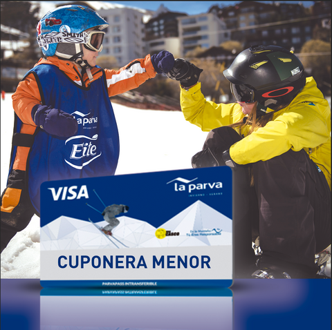Cuponera Menor - 10 Tickets Temporada Alta