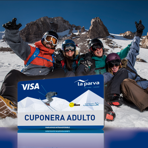 Cuponera Adulto - 10 Tickets Temporada Alta