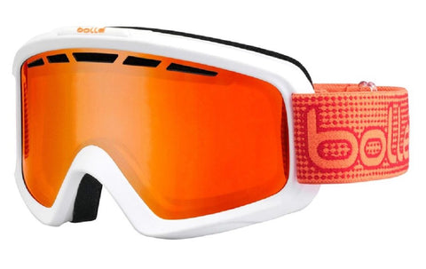 Antiparras Bollé Nova II (Matte White and Orange/ Fire Orange)