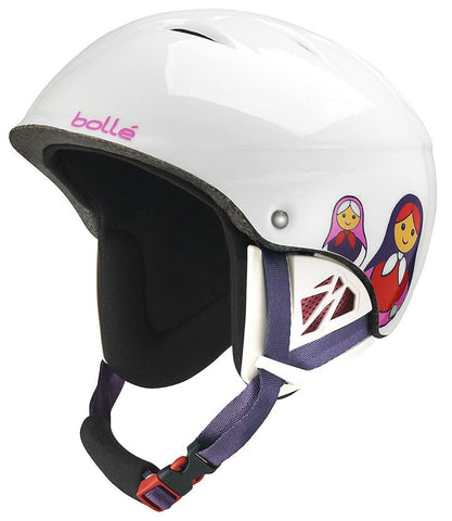 Casco Bollé B-Kid (Shiny White Matriochka)