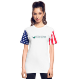Stars & Stripes Hemlock Mountain Outdoors T-Shirt - white