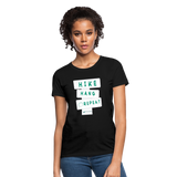 Hike Hang Repeat '21 Women's T-Shirt - black