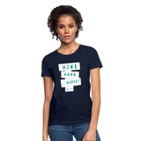 Hike Hang Repeat '21 Women's T-Shirt - navy