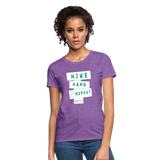 Hike Hang Repeat '21 Women's T-Shirt - purple heather