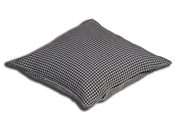 Aranda Weave Houndstooth Wild Dove Cushion