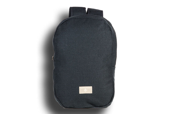 Plain Black Urban Backpack