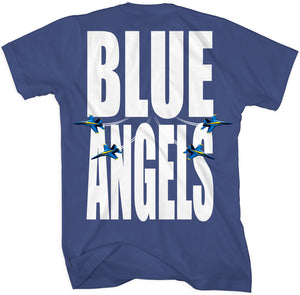 Men's Blue Angels Can't Miss Me Tee