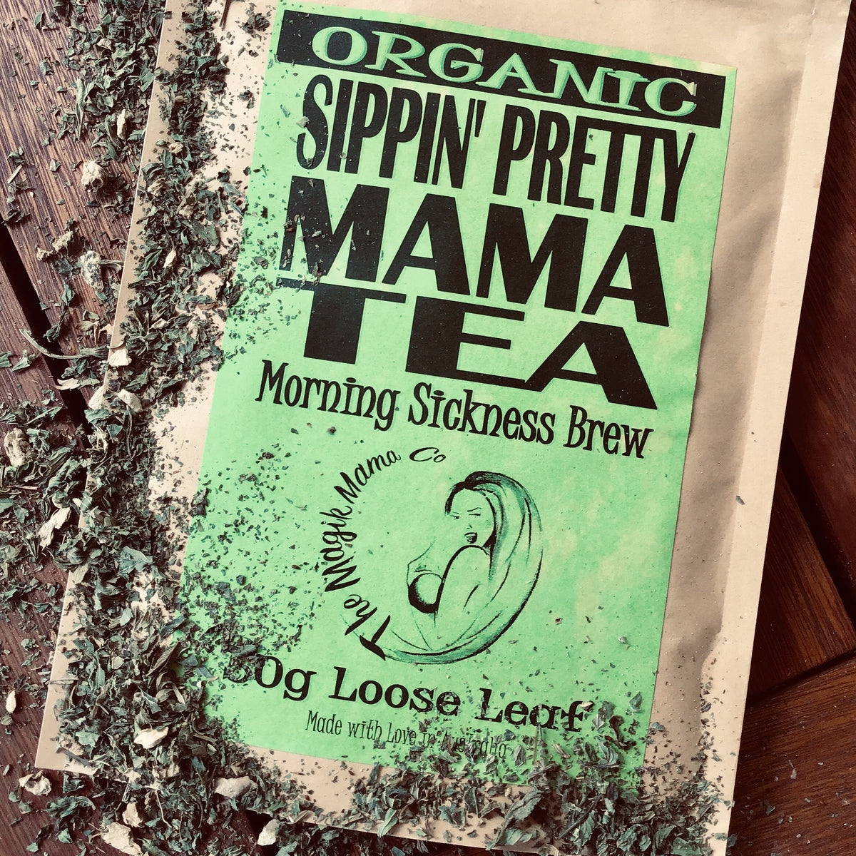 Sippin Pretty Mama Tea - Morning Sickness Brew  The -2907