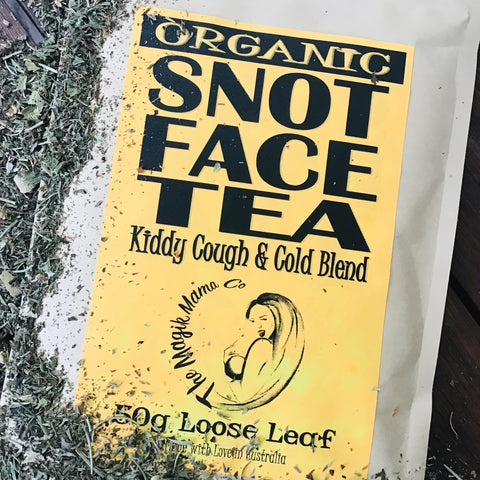Snot Face Tea - Cough & Cold Brew