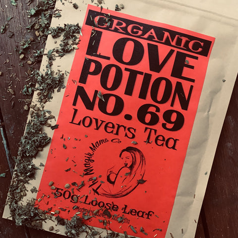 Love Potion No 69 Tea - Lovers Brew