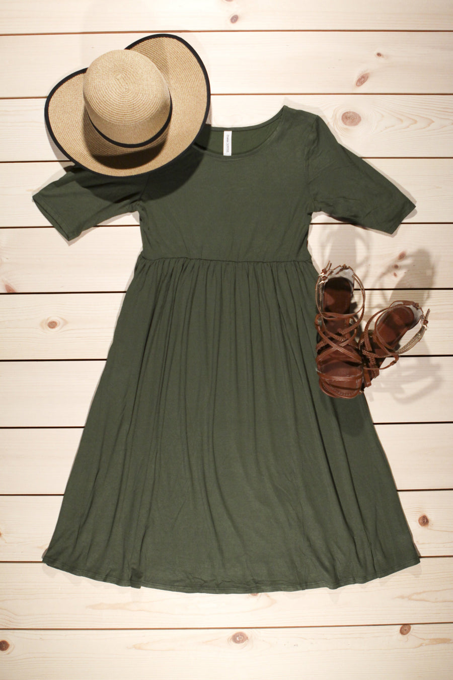 Savannah 1/2 sleeve Dress