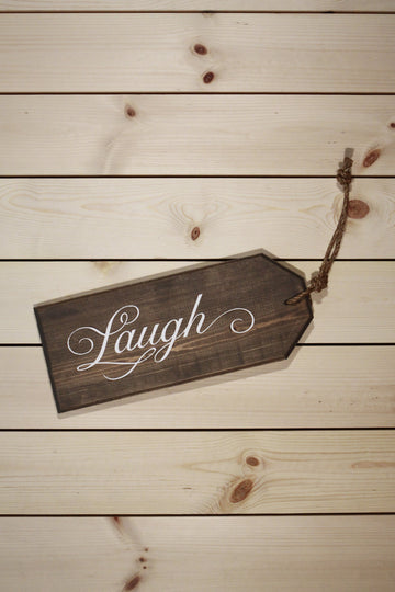 Laugh Oversized Tag