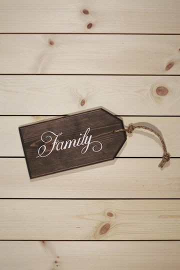 Family Oversized Tag