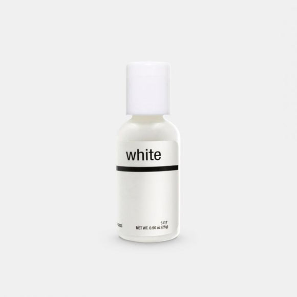 0.75oz Bright White Chefmaster Liqua-gel