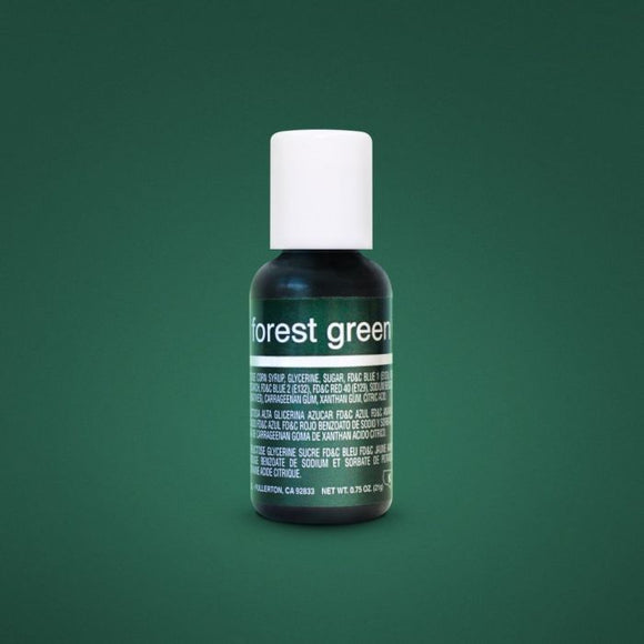0.75oz Forest Green Chefmaster Liqua-gel