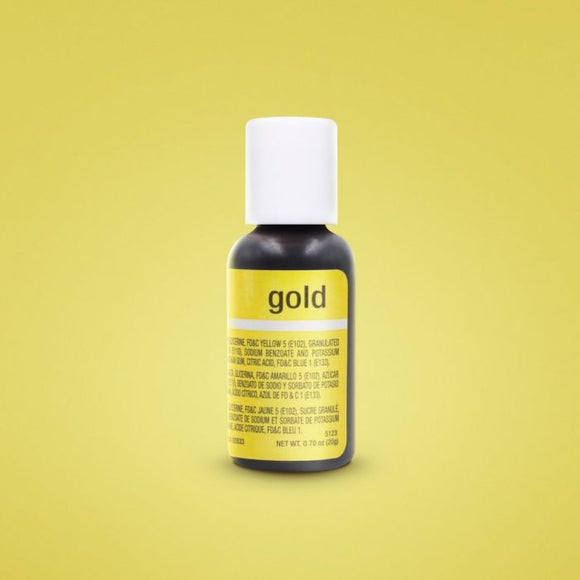 0.75oz Gold Chefmaster Liqua-gel