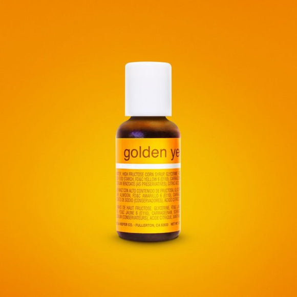 0.75oz Golden Yellow Chefmaster Liqua-gel