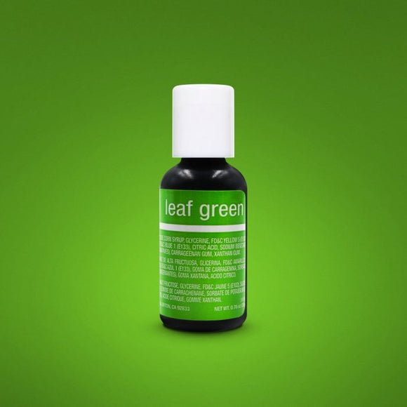 0.75oz Leaf Green Chefmaster Liqua-gel