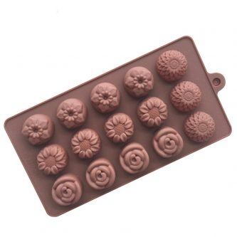12 Cavity Flower Mold