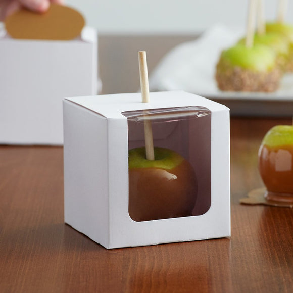 Candy Apple Box w/ Window