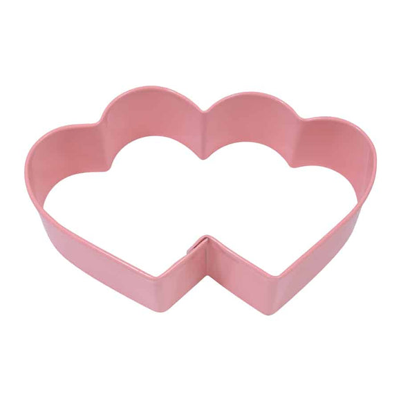 3.5″ PINK DOUBLE HEART