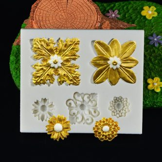 Blooming Flower Mold