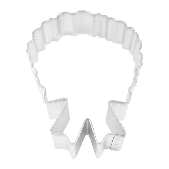 CHRISTMAS WREATH COOKIE CUTTER (4″)