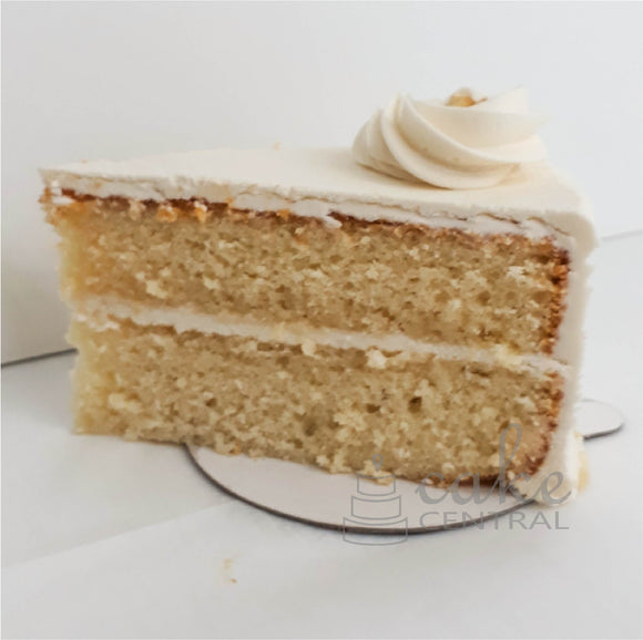 Banana-Coconut Daiquiri Cake Slice