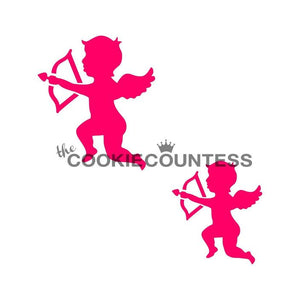 Cupid 2-sizes Stencil