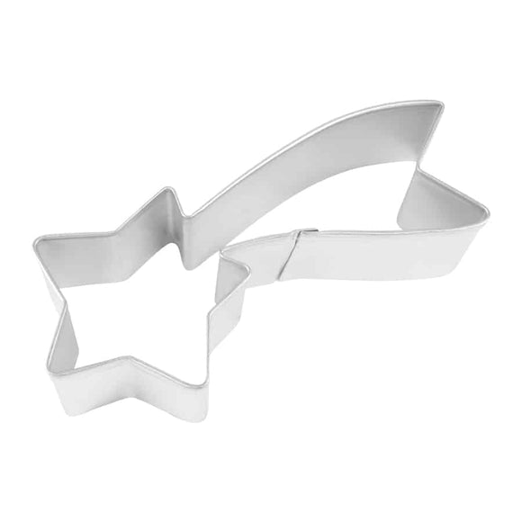 FALLING STAR COOKIE CUTTER (4″)