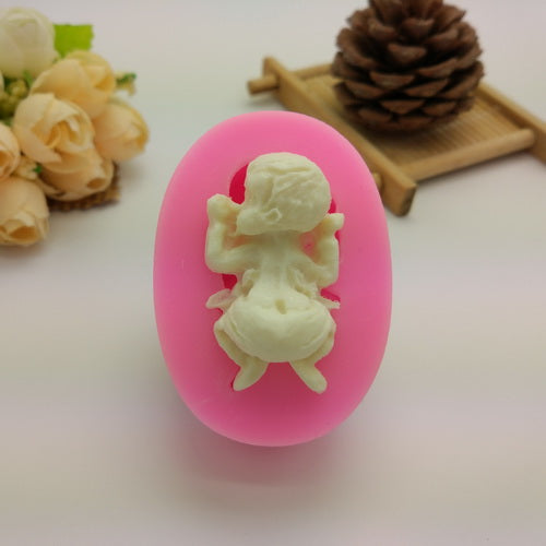 Face down Baby Silicone Mold