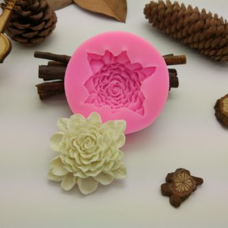 Frilly Flower Mold