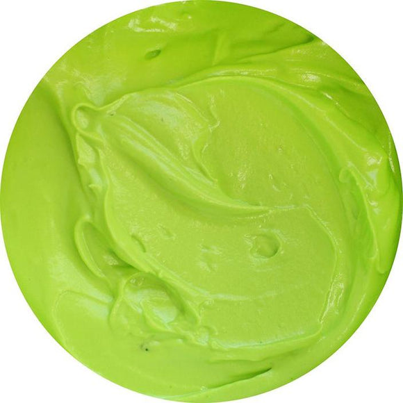 Glowing Green Gel Paste Color