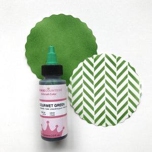 Gourmet Green Airbrush Color