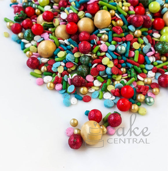 Happy Holidays Sprinkle Mix