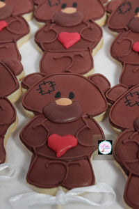 Valentine's  Decorated Cookies