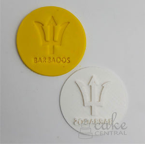 Barbados/ Trident Embossing Stamp