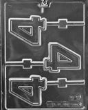 Number and Letter Plastic Molds