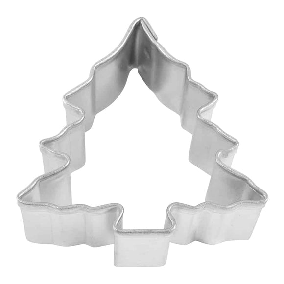 MINI CHRISTMAS TREE W/ SNOW COOKIE CUTTER (1.5″)
