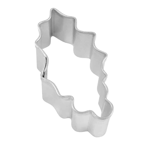 MINI HOLLY LEAF COOKIE CUTTER (1.75″)